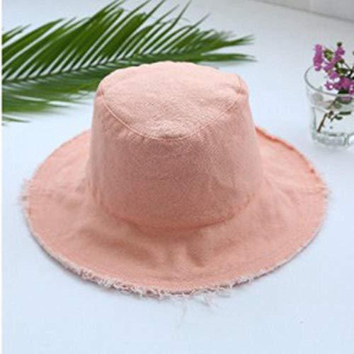 WKH Sombrero de Cubo de Mezclilla Plegable, Gorra de Pesca Lavada, Gorra...
