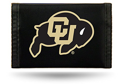 NCAA Rico Industries Laser Engraved Trifold Wallet Colorado Buffaloes