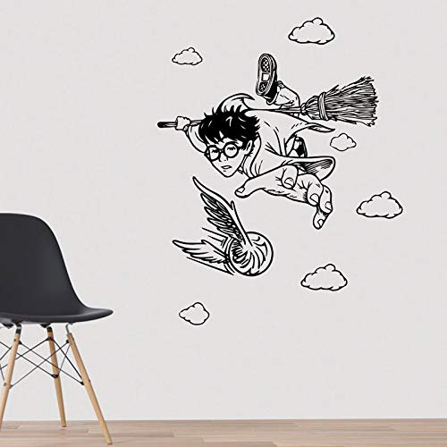 YHZSML Baby Potter Flug Aufkleber Potter Magical Poster Wanddekoration Gryffindor DIY Murals 42x53cm