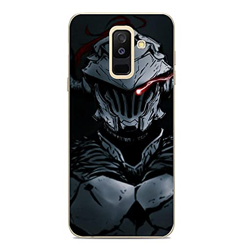 Ddftet Protect Clear Coque Soft TPU Wireless Charging Liquid Silicone Cover Case For Samsung Galaxy A6 Plus/J8 2018/A9 Star Lite-Anime Goblin-Slayer 5
