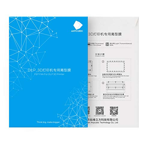 140x200mm SLA/LCD FEP Film For Photon Resin DLP 3D Printer 0.15-0.2mm 3D Printer Filaments