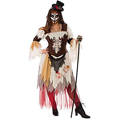 Rubies- Disfraz Voodoo Woman Ad, Multicolor, Talla única (700366)