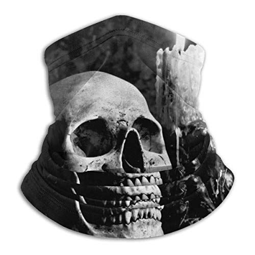 JKHHW Scaldacollo in Pile Scaldacollo Ghetta Gotica Candela Morbida Microfibra Copricapo Maschera per Sciarpe Maschera per Inverno Freddo e Tenere Caldo per Uomo Do