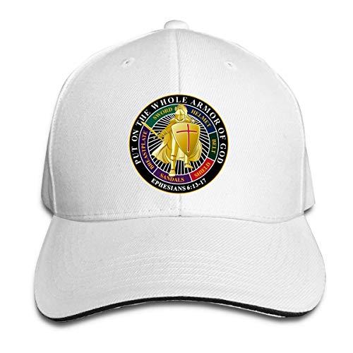 Wheatleya Setzen Sie auf die ganze Rüstung Gottes Aufkleber Sandwich Hüte Baseball Cap Hut Snapback Hut Papa Hut