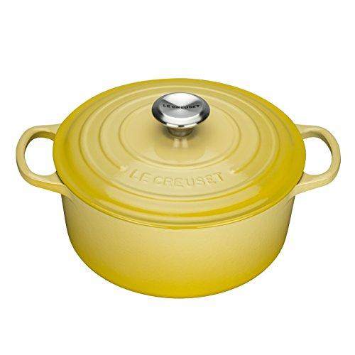 Panela Redonda, 26 Cm - Signature, Le Creuset, 2117726, Amarelo Soleil