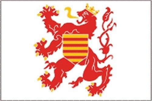 U24 Sticker Limburg (België) vlag vlag vlag 15 x 10 cm autosticker sticker