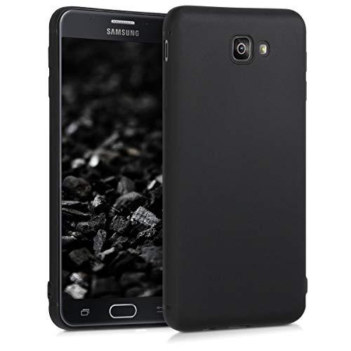 kwmobile Samsung Galaxy On7 Prime/On Nxt Hülle - Handyhülle für Samsung Galaxy On7 Prime/On Nxt - Handy Case in Schwarz matt
