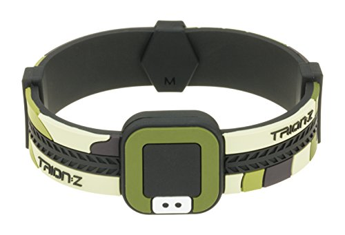 Colantotte Trion:Z Acti-Loop Wristband, Camo Green, Small