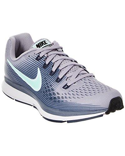 Nike Wmns Air Zoom Pegasus 34, Zapatillas de Running Mujer, Multicolor (Provence Purple/Iglo 503), 42.5 EU