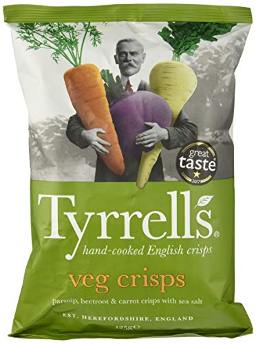 Tyrrell's, Patata de bolsa - Chips de Verdura - 6