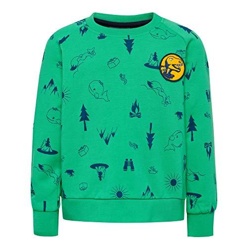 Lego Wear Baby-Jungen LWSIRIUS 650-SWEATSHIRT Sweatshirt, Grün (Green 866), (Herstellergröße: 92)