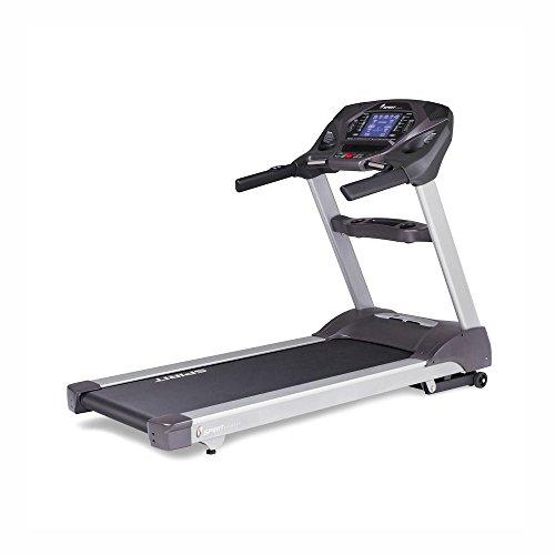 Spirit Fitness XT685 - Cinta de Correr (Talla única), Color Gris y Plateado