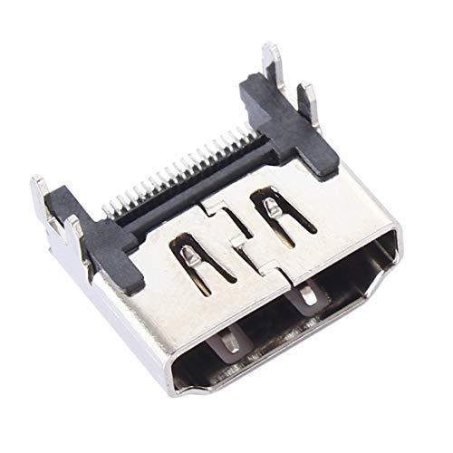 Reemplazo de la reparación del Conector de la Interfaz del zócalo del Puerto HDMI de Color Plateado para Playstation 4 Consola PS4 Venta al por Mayor Digital - Plateado