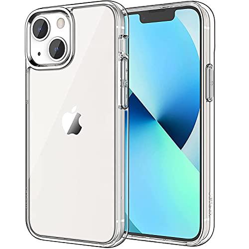 JETech Cover Compatibile con iPhone 13 6,1 Pollici, Custodia con Assorbimento degli Urti e Anti-Graffio, Trasparente HD Chiaro