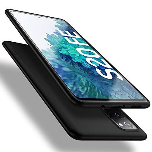X-level Samsung Galaxy S20 FE Hülle, [Guardian Serie] Soft Flex Silikon Premium TPU Echtes Handygefühl Handyhülle Schutzhülle für Samsung Galaxy S20 FE 5G Hülle Cover - Schwarz