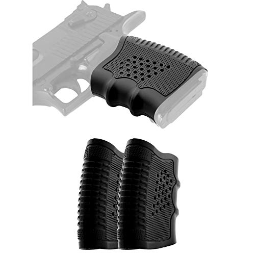 VAH Tactical Rubber Grip Glove Sleeve 2 Pcs Slip-On Ventilated Grip Grips for Glock