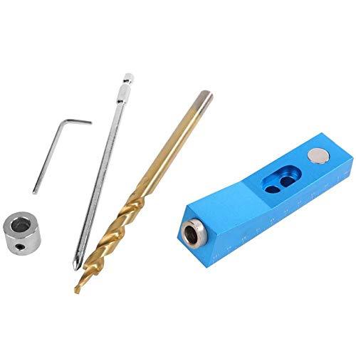 Perforadora vertical, localizador de orificios para carpintería, plantilla de bolsillo de mano para puertas, muebles de madera