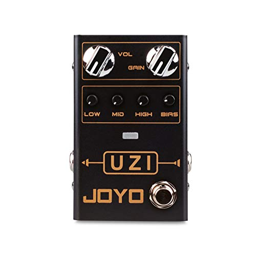 R-03 UZI Distortion Guitar Effect Pedal for Heavy Metal Music With BIAS Knob True Bypass Single Effect Guitar Accessories