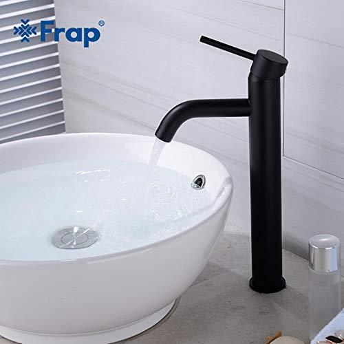 5151BuyWorld waterkraan, opbouw, wastafel, mengkraan, zwart, populair en warm, waterkraan