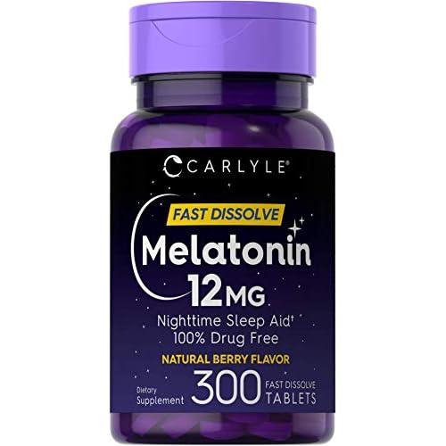 Carlyle Melatonin 12 mg Fast...