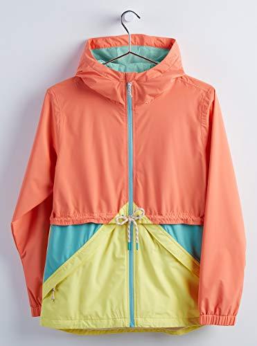 Burton Damen Narraway Jacke, Pink Sherbet Multi, S