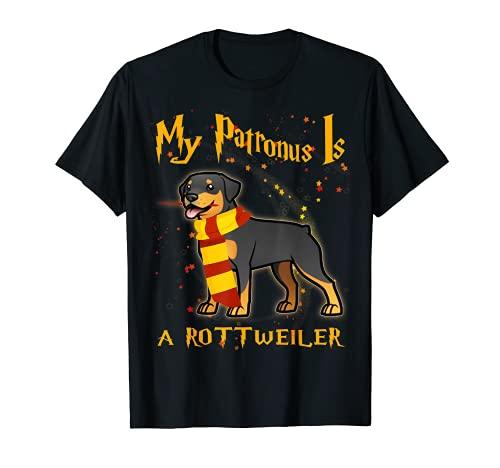 My patronus is ROTTWEILER - ROTTWEILER Dog Gift T-Shirt