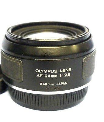 Olympus AF 24mm F2.8 広角レンズ OM77 OM707 OM88 OM101 SLRフィルムカメラ用