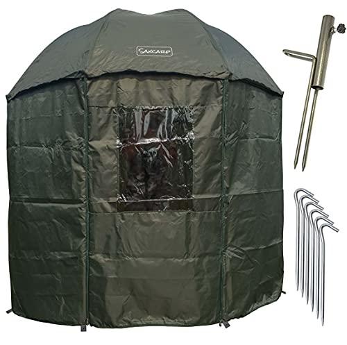 NECO 15035 Isothermen Parapluie de pêche avec cape et...