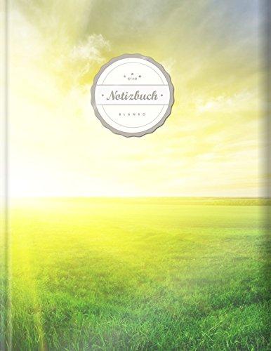 """Blanko Notizbuch (©Star, A4, 156 Seiten, Softcover)    Mit Register + Seitenzahlen    Leeres Notizheft zum Selbstgestalten, Zeichenbuch, Skizzenbuch, Blankobuch, Malbuch """"Garten Eden"""""""
