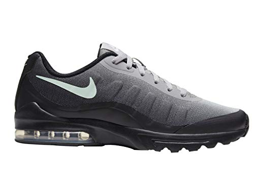 Nike Air Max Invigor Herren Sneaker, Black/Pistachio Frost (Numeric_43)