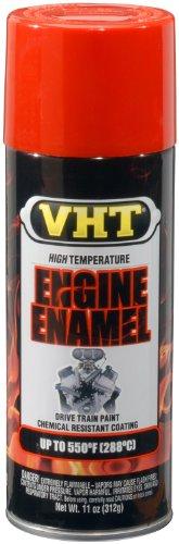 VHT SP123 Engine Enamel Chevy Orange Can - 11 oz.