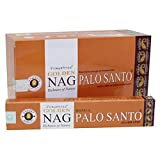 VIJAYSHREE GOLDEN NAG PALO SANTO 15 GR. X 12 CAJITAS = 180 GR.…