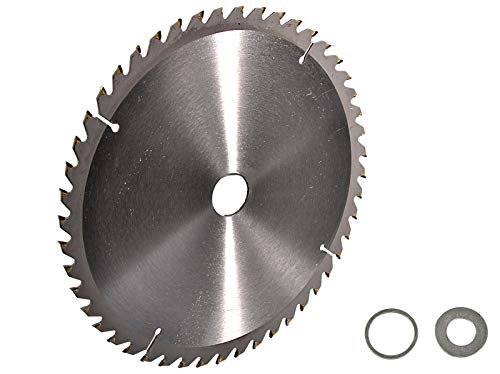 Preisvergleich Produktbild Kreissägeblatt Hartmetall 355 x 30 mm 48 Z + 2 Reduzierringe auf 25, 4 und 16 mm