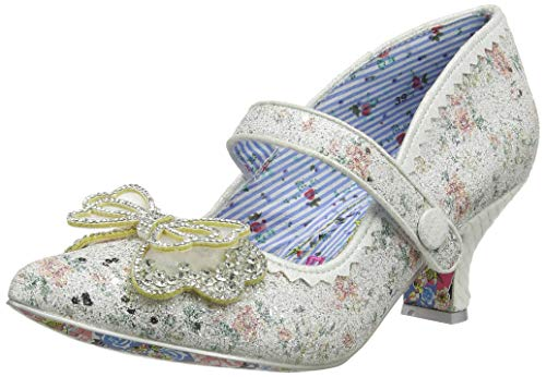 Irregular Choice Damen Believe In Us Brautschuhe, Weiß (White A), 36 EU