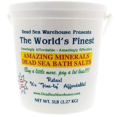 Dead Sea Warehouse - Amazing Minerals Dead Sea Bath Salts