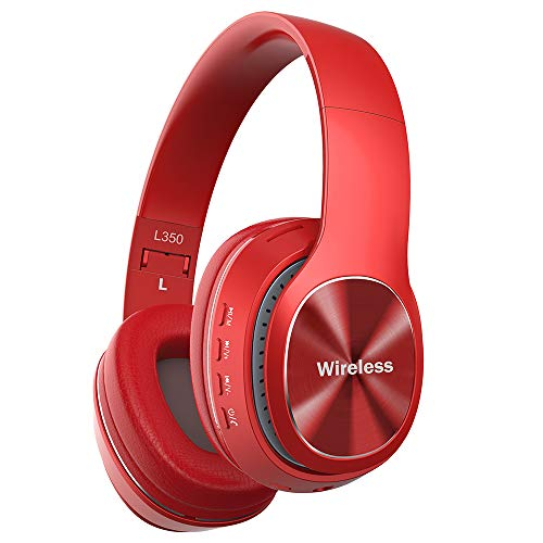 YiYunTE Auriculares Bluetooth Inalambricos sobre Oreja Auriculares de Diadema Cerrados Cascos Plegables...