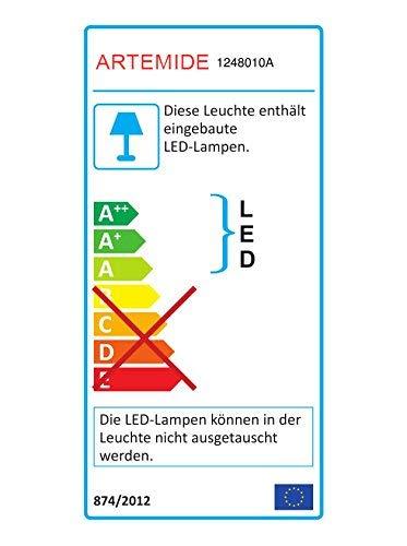 Artemide Pirce Micro Led Lampe Murale