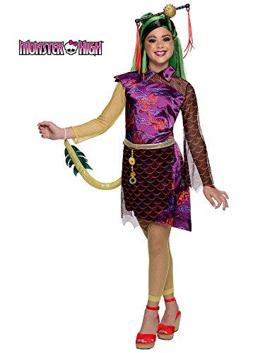 Rubie's-déguisement officiel - Monster High-Déguisement luxe Jinafire Long -Taille L- 886701L