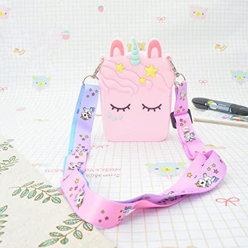 JUSHINI Damen Geldbörse Pop Fidget Toys Tasche Push Bubble Sensory Squeeze Rucksack Anti-Angst Zappeln Spielzeug Popit Anhänger Umhängetasche Stressabbau Pop Schultertaschen für Kinder Erwachsene