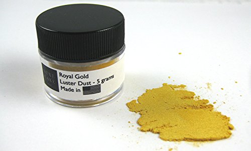 Royal Gold Luxury Cake Dust, 5 Grams, USA Made