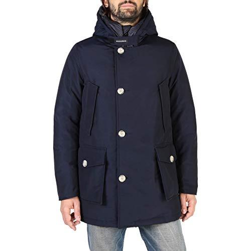 Woolrich Parka Misto Cotone WOCPS2882 Melton Blue Size:L