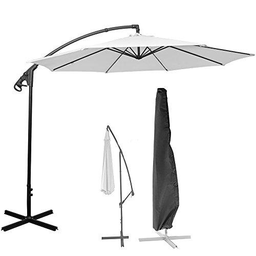 Sunsbell Parasol Cover, Waterproof Offset Parasol Cantilever