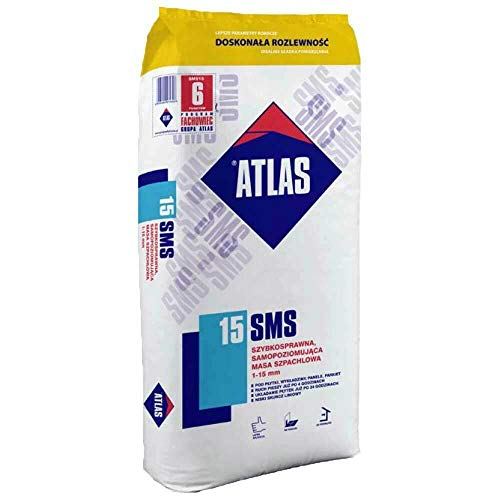 ® ATLAS SMS 15 - Ausgleichsmasse schnellbindende selbstnivellierende Spachtelmasse 1-15 mm