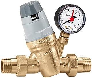 Caleffi 535051 Estabilizador de Presión de Agua 3/4'' DN20 Válvula Reductora de Presión para Agua, Regulador de Presión de Agua