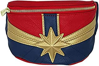 Captain Marvel Faux Leather Fanny Pack Standard