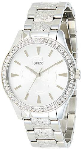 GUESS Damen-Armbanduhr 38mm Armband Edelstahl + Gehäuse Batterie W1280L1