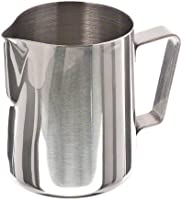 Update International EP-20 Stainless Steel Frothing Pitcher, 20-Ounce