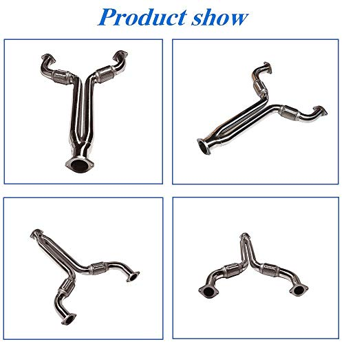 WFLNHB Stainless Exhaust Manifold Headers Replacement for Nissan 350z /& 370z Infiniti G37 3.5L 3.7L V6