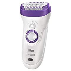 Comes with 7 extras including a shaver head, a trimmer cap, a high frequency massage cap, a skin contact cap, a charging stand for an always charged device and a bonus facial brush