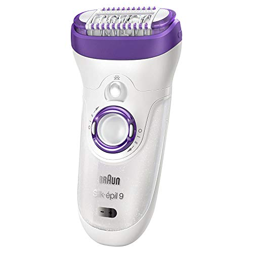 Braun Silk-épil 9 9-579 Wet and Dry Cordless Epilator